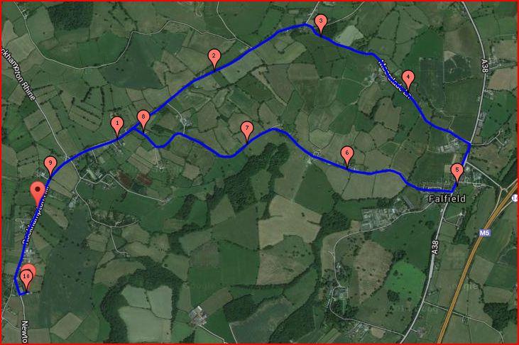 Sundayshill route