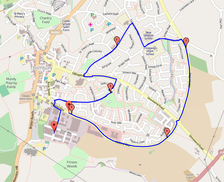 Winter Handicap Route